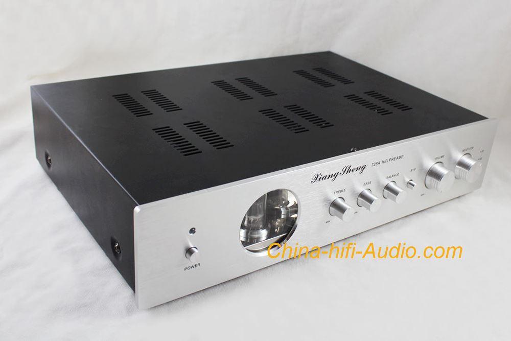 XIANGSHENG 728A tube preamp Shigeru Wada circuit pre-amplifier Silver