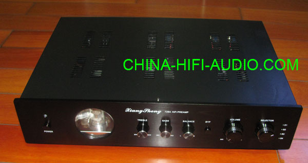 XiangSheng 728A Vacuum Tube Pre-Amplifier Japan circuit black