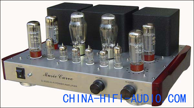 Music Curve D-2020-EL34-B vacuum tube Integrated Amplifier