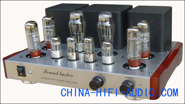 Sound Luster D-2030A-EL34-B Class A tube Integrated Amplifier