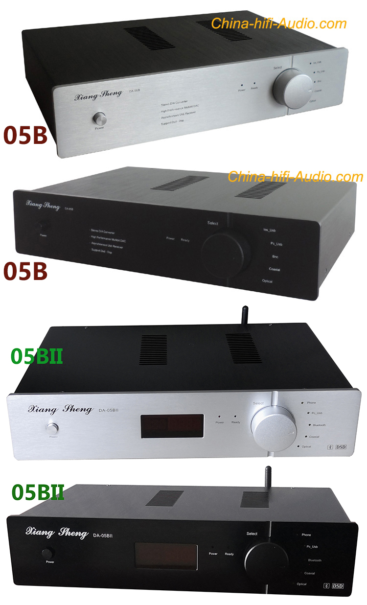 XIANGSHENG DA-05B asynchronous USB DAC DSD xmos AK4495 AK4497 24bit