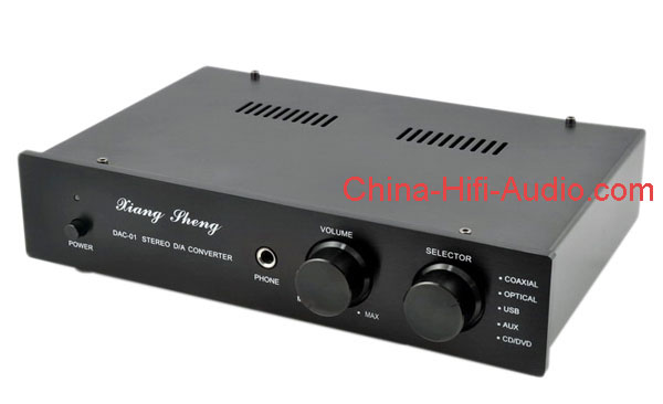 XiangSheng DAC-01A DAC Decoders/Headphone amplifier Black