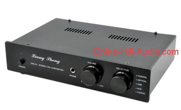 XiangSheng DAC-01A DAC Decoders//Headphone//PreAmplifier