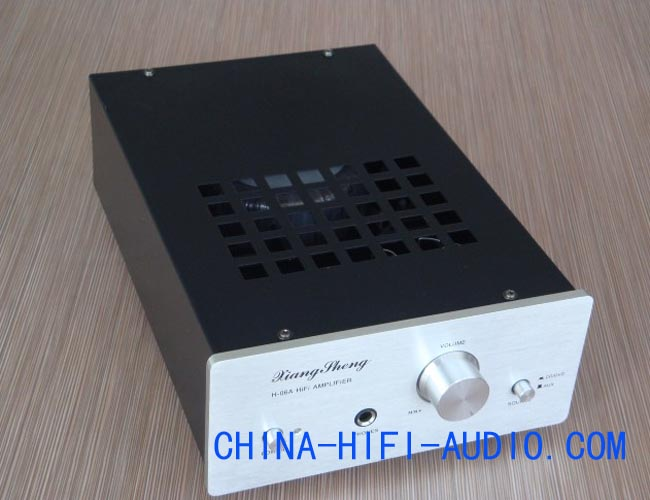 XiangSheng H-06A Tube/transistor hybrid Integrated AMP silver