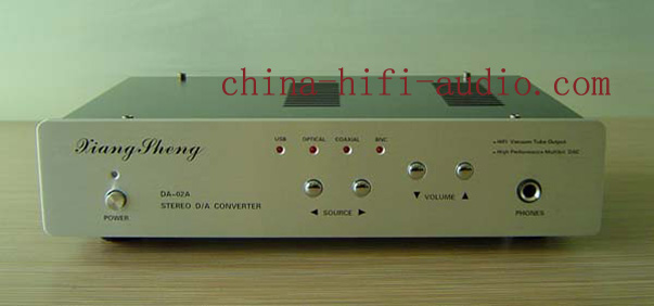 XiangSheng DAC-02A DAC Headphone Amplifier USB BNC fiber Silver