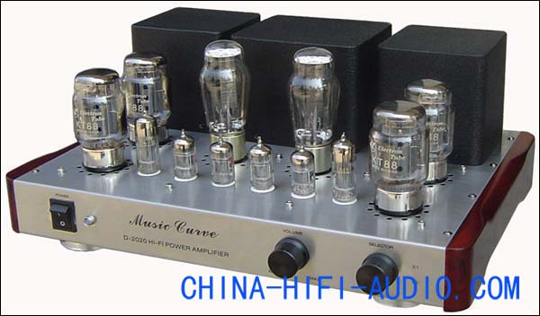 Music Curve D-2020-KT88 vacuum valve hi-fi Integrated Amplifier