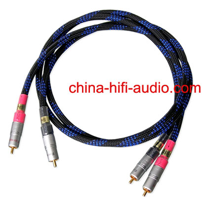 SoundRight SN-1 hifi Audio RCA Interconnect Cables 1 meter pair