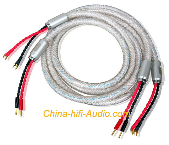 Xindak Soundright LF-Silver Audio Loudspeaker Cable pair 2.5m