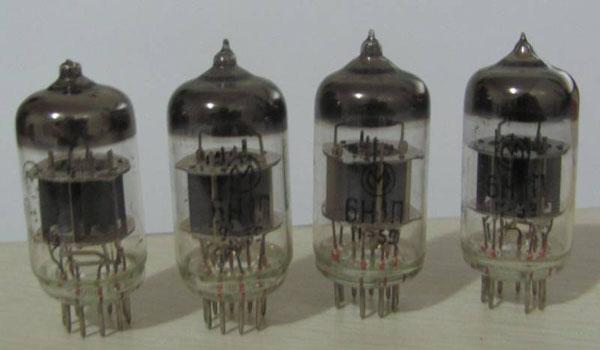 vacuum tube 6H1n = 6N1, ECC85, 6N11, E88CC 6922 Russia made NOS
