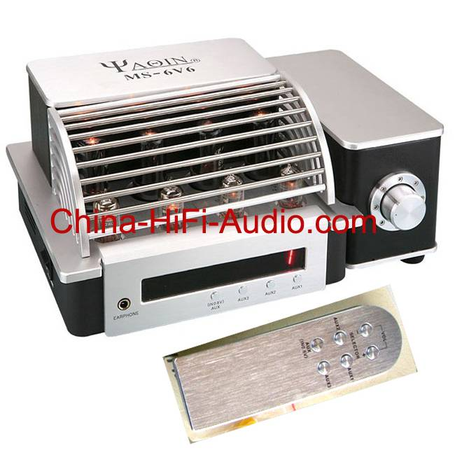 YAQIN MS-6V6 Hi-Fi Vacuum Tube Integrated Amplifier New