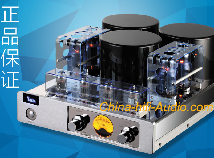 YAQIN MC-13S TUBE 6CA7-T push-pull hifi Integrated amplifier - Click Image to Close