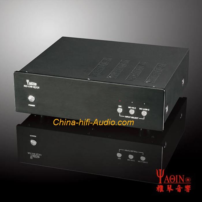 YAQIN MS-33B HiFi Vaccum tube Vinyl phono amplifier preamp MM/MC