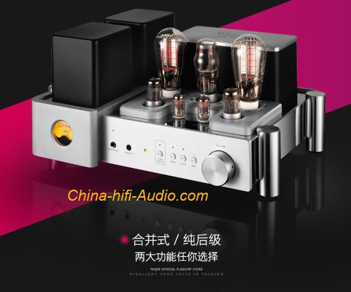 YAQIN MS-500B Integrated Amp HiFi Tube 300B power Amplifier with remote control