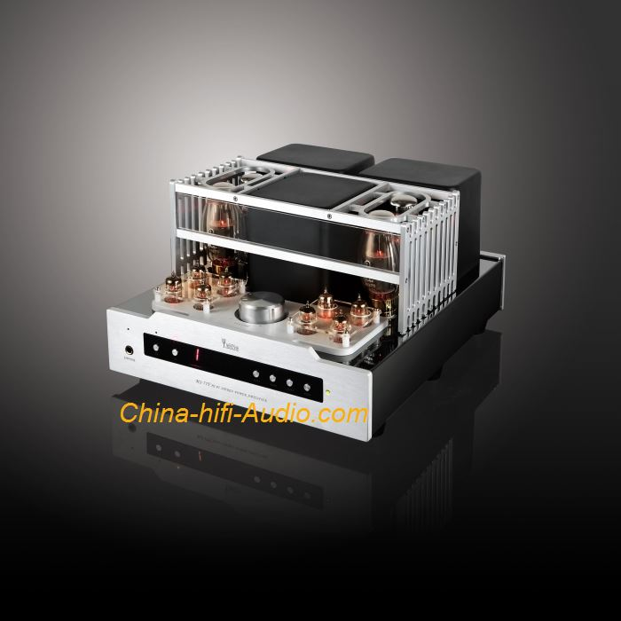 YAQIN MS-77T 7027B x4 HiFi Vacuum tube Integrated Amplifier with remote control