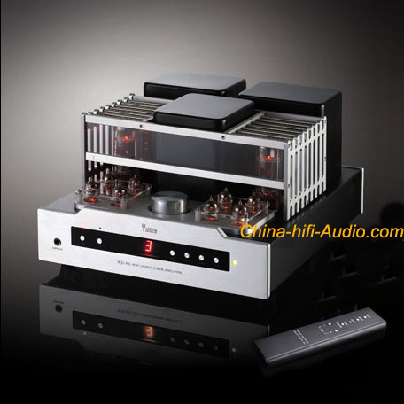 YAQIN MS-30L INTEGRATED AMPLIFIER EL34 Vacuum Tube Hi-Fi with remote control