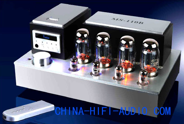 Yaqin MS-110B KT88 vacuum tube Integrated Amplifier remote contr